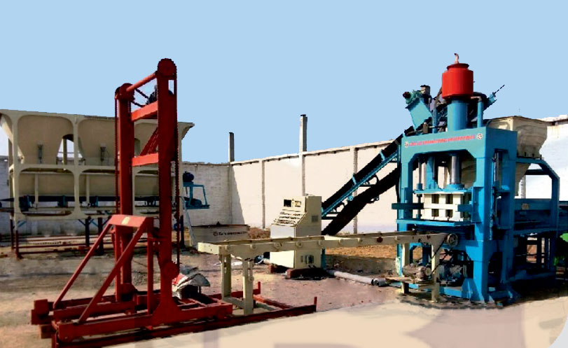 Automatic Fly Ash Brick Making Machine - ENDEAVOUR-iF-2500 - 12 Bricks per Stroke - 2500 Bricks per Hour